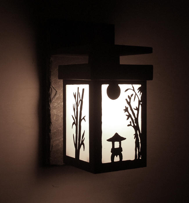 Japanese Style Lighting Sendai Series Wall Lanterns