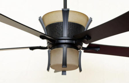 Japanese Style Lighting Akina Ceiling Fan